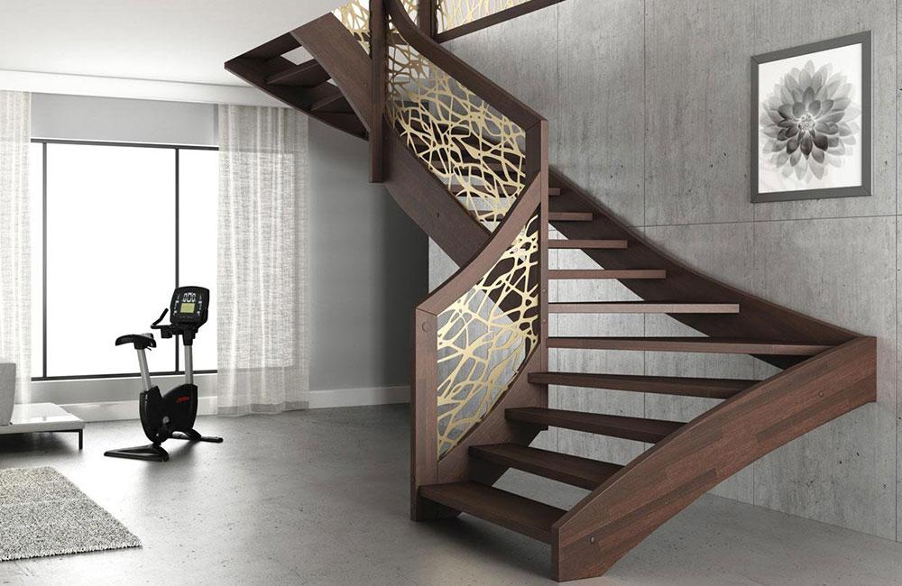 Scale per interni colacicco legno si occupa della for Scale per librerie in legno