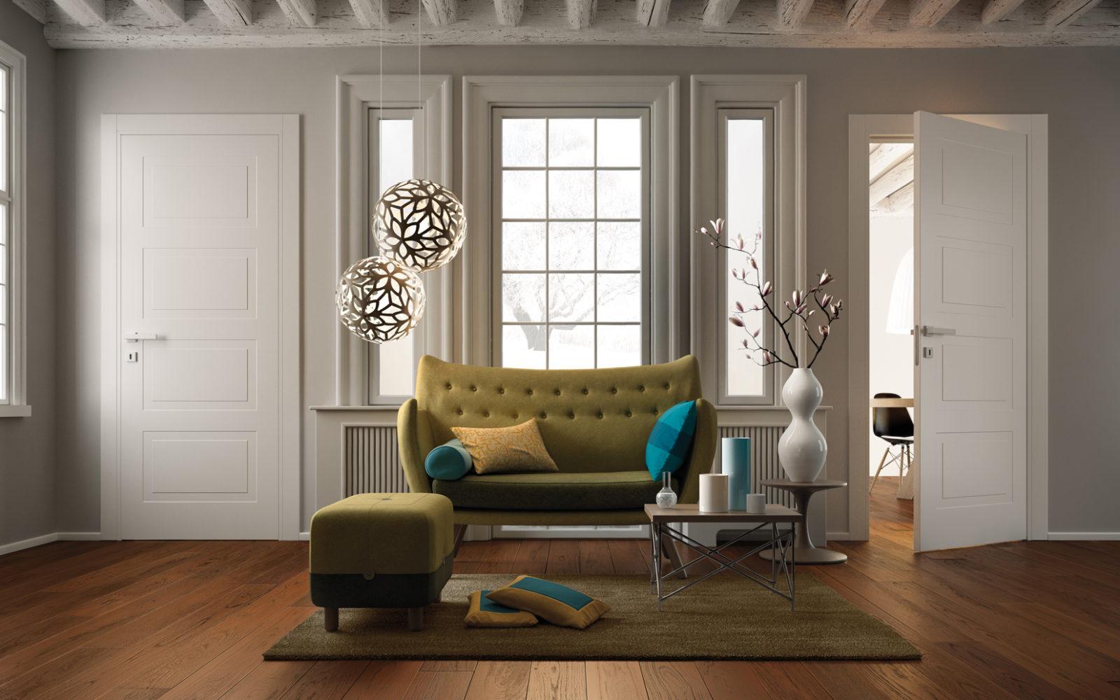 Porte Da Interno Colorate porte pantografate garofoli: decori e stile per la tua casa